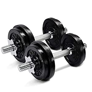 Well-Being-Matters 419VFEQCN2L._SS300_ Yes4All Adjustable Dumbbells 40, 50, 52.5, 60, 105 to 200 lbs with Connector Options for strength training