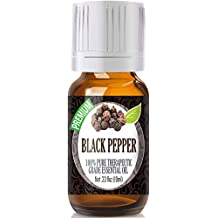 Black Pepper 100% Pure, Best Therapeutic Grade Essential Oil - 10ml