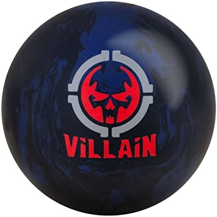 Motiv Villain Bowling Ball Black Blue Solid, 15lbs
