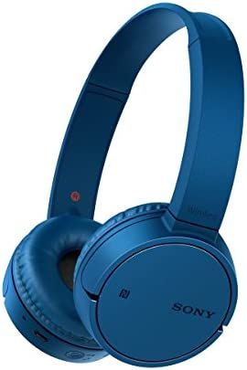 Sony MDRZX220BTL.CE7 - Auriculares Plegables de Diadema Cerrados con Bluetooth (Manos Libres para Apple iPhone y Android, NFC, LDAC, autonomía de 8 h), Color Azul: Amazon.es: Electrónica