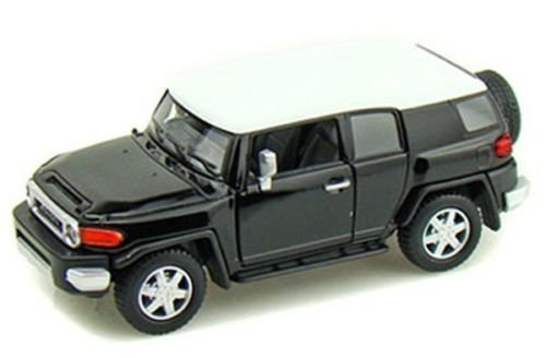 Toyota Car Photo - New 1:36 KINSMART DISPLAY - BLACK COLOR TOYOTA FJ CRUISER Diecast Model Car By KINSMART