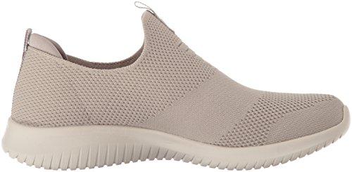 Sneaker Skechers Marino Take Ultra Slip on Damen First Taupe Flex Zw60Zq