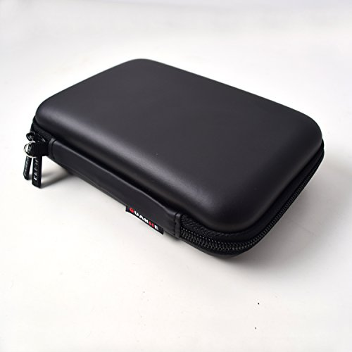 EKYLIN Strong Carrying Case for Mini Projector and Accessories Portable Mobile Protection (Black)