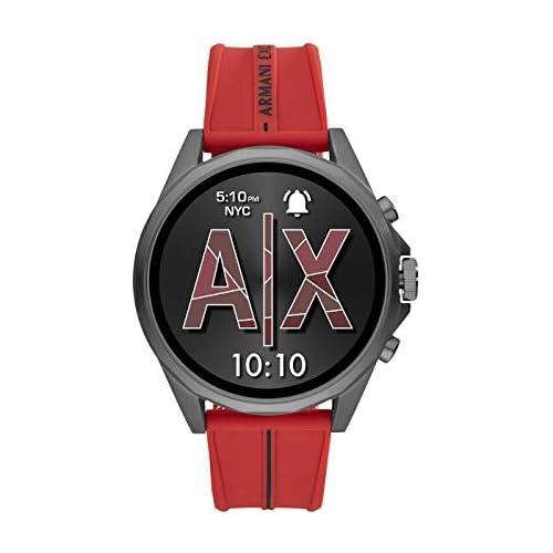 chollos oferta descuentos barato Armani Exchange Smartwatch Pantalla táctil para Hombre de Connected con Correa en Silicona AXT2006