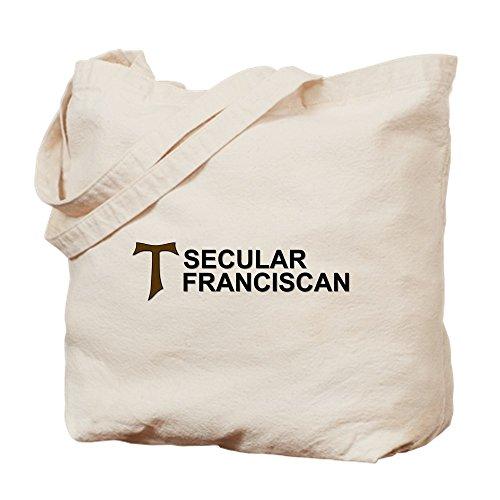 CafePress–franciscana Secular–Gamuza de bolsa de lona bolsa, bolsa de la compra