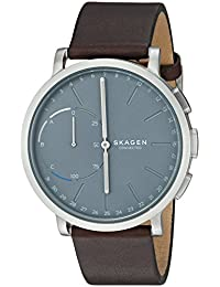 Hybrid Smartwatch - Hagen Dark Brown Leather SKT1110
