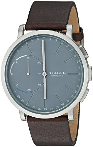Skagen Hybrid Smartwatch - Hagen Dark Brown Leather SKT1110 (Hagen Battery)