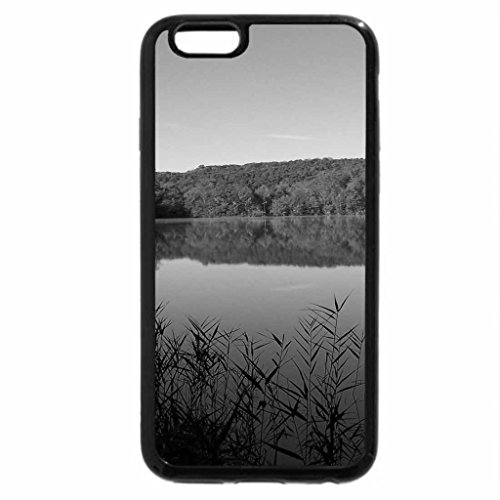 iPhone 6S Case, iPhone 6 Case (Black & White) - Green Lake State Park, New York