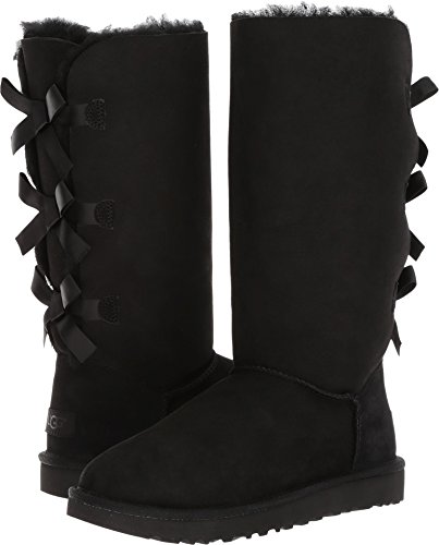 Used, UGG Women's Bailey Bow Tall II, Black 7 M US for sale  Delivered anywhere in USA