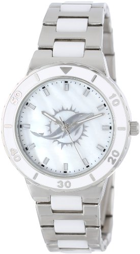 Miami Dolphins Fan Series Watch (Game Time Women's NFL-PEA-MIA