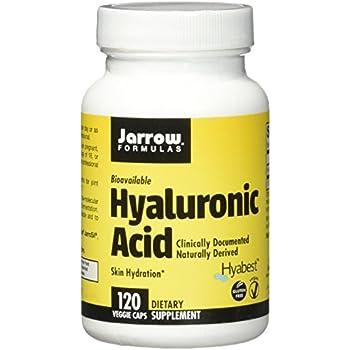 Jarrow Formulas Hyaluronic Acid, Skin Hydration, 120 Veggie Caps