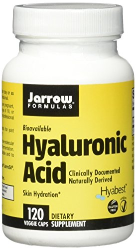 Jarrow Formulas Hyaluronic Acid, Skin Hydration, 120 Veggie Caps (Best Hyaluronic Acid Reviews)