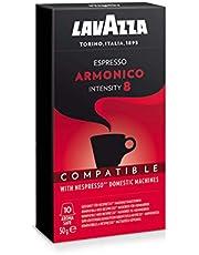 Lavazza Nespresso Compatible Armonico 10 Coffee Capsules