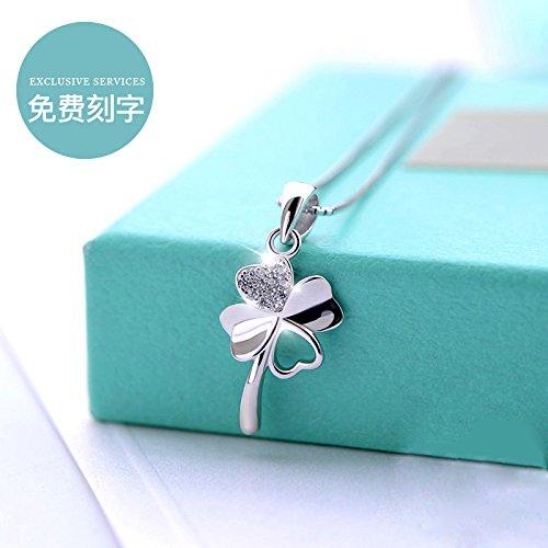 Generic silver silver silver rose necklace pendant black women girl models pendant necklace bracelet _yellow_ White _Fritillaria_ clavicle chain (Carnelian Yellow Pendant)