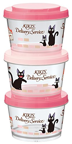 Studio Ghibli Kiki's Delivery Service Joint Type Storage Container Set (3 Piece)