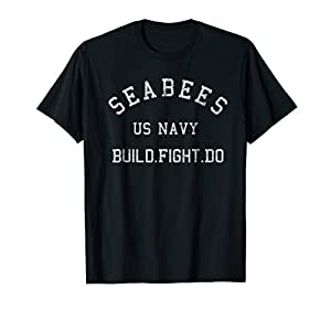 Navy Seabees Shirt US Navy Construction Battalion T Shirt by Navy Seabees Gifts & Apparel