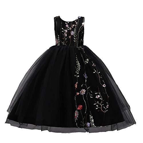 Embroidered Flower Girls Dress Myosotis510 Sequined Tutu Pageant Dress