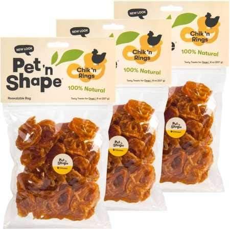 Pet n Shape 3 Pack Chik n Rings 24 oz