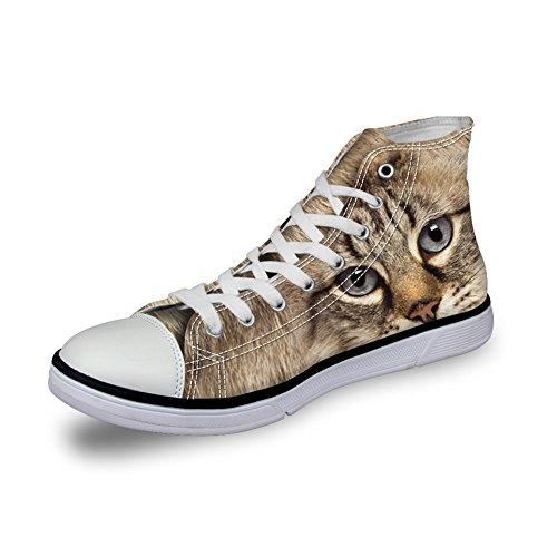 pattern A Collo 2 3d Coloranimal cat Alto donna YHxHaqd