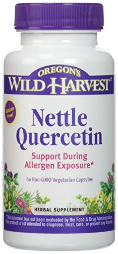 Oregon's Wild Harvest Nettle Quercetin Capsules, 60 Count