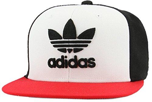 d1094e2b78a adidas Men s Originals Snapback Flatbrim Cap