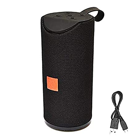 Shengshou TG113 Portable  amp; Waterproof Wireless Bluetooth Speaker Playing with Mobile Tablet Laptop AUX Memory Card Pen Drive FM  Black