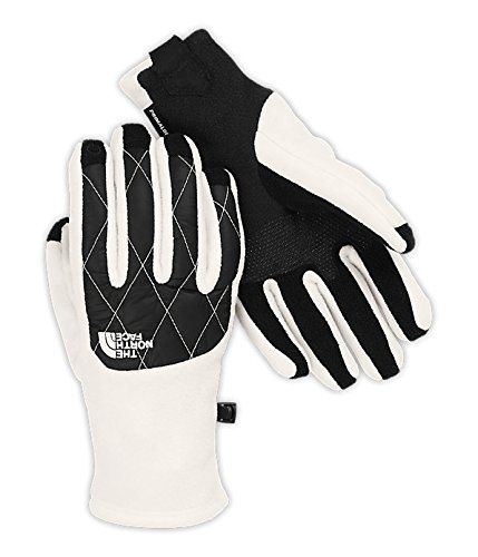 The North Face Women's ThermoBall Etip Gloves Gardenia White / TNF Black M