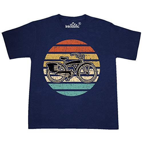 inktastic Cycling Vintage Bicycle for Youth T-Shirt