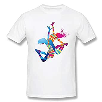 T Shirt With Dancers Design Xl