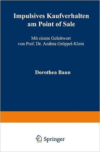 Point-of-Sale-Marketing. Impulsives Kaufverhalten (German Edition)