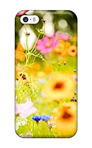 5500959K98935 5s585 Quality Case Cover With Vivid Flowers Nice Appearance Compatible With Iphone 5/5s