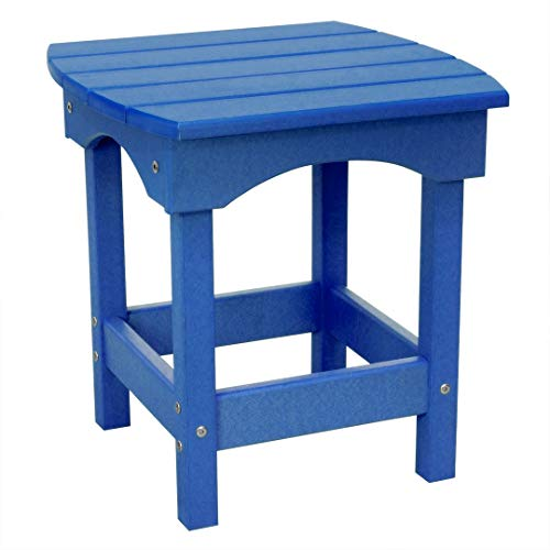 Adirondack End Table Blue (Harbor Side Table (Royal Blue))