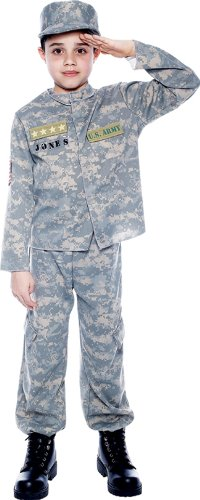 US Army Officer Child Costume (Small) -