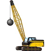 Beistle 54375 Jointed Crane with Wrecking Ball, 3-Feet 2-inch