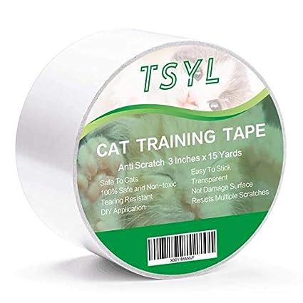 Cinta adhesiva antiarañazos para gatos para muebles ...