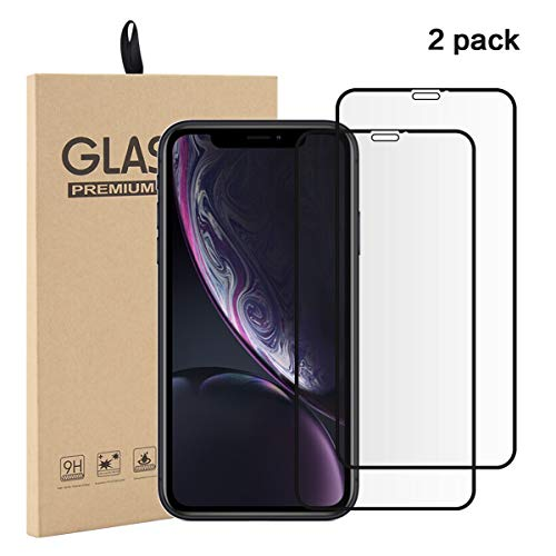 (Torubia iPhone Xr Screen Protector Glass, HD Tempered Glass Film Scratch Protection for iPhone Xr)