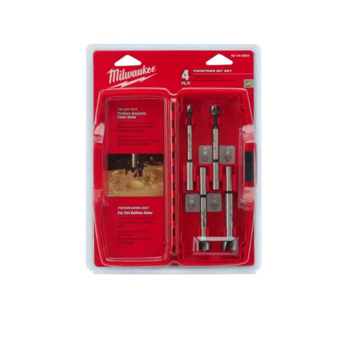 Milwaukee 48-14-0004 4 Piece Forstner Bit Set