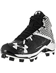 Under Armour Mens Deception Mid TPU Baseball Cleat