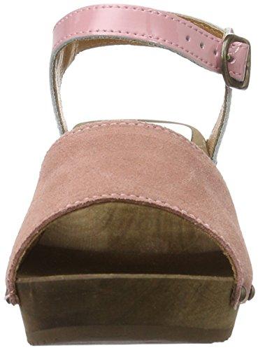 Sanita Edel Wedge Flex Sandal - Tira de tobillo Mujer Rosa Rosa (Rose)
