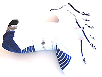 Calvin Klein Low Cut Ankle Socks Casual Day All Sport Cushioned Athletic- 6 Pairs