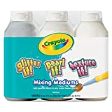 water based mixing medium - CRAYOLA 3 CT 8 OZ TEMPERA MIXING