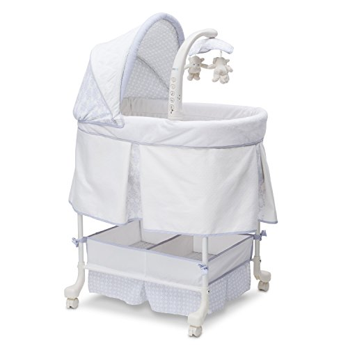 Cheapest Price! Simmons Kids Beautyrest Studio Gliding Bassinet, Royalton