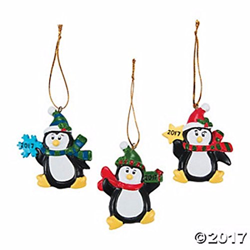 Best Original Halloween Costume Ideas 2016 (12 Ornaments set, 2017 holding a snowflake Penguin Ornaments Christmas Gifts & Favors)