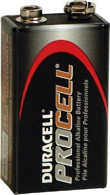 DURACELL 9 Volt PROCELL Professional Alkaline Battery, 24 Batteries