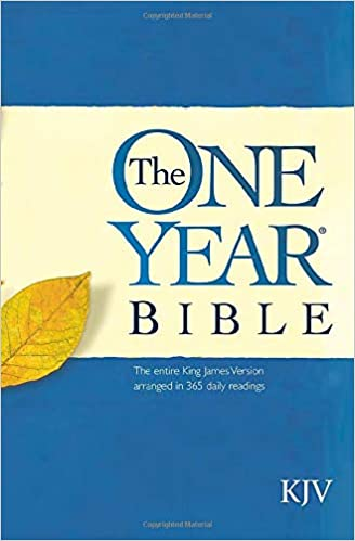 The One Year Bible The Entire King James Version Arranged In 365 Daily Readings Tyndale 0031809025765 Amazon Com Books