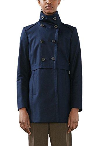 Bleu Femme Manteau navy Collection Esprit qR6w8PnxU