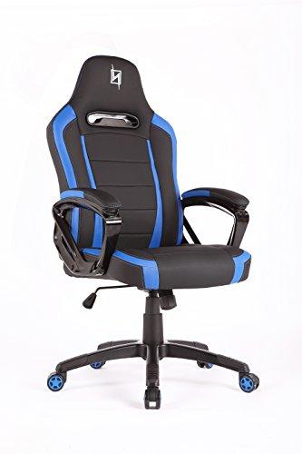 N Seat Computer Chair Esports Desk Black Blue Gaming Chairs