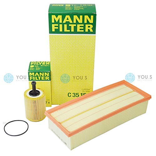 Man Filter Set Oil Filter + Air Filters: