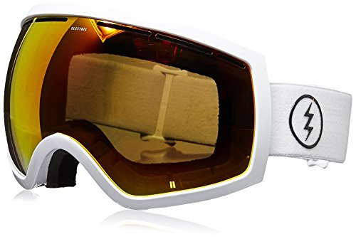 Electric Visual EG2 Gloss White Jet Black Snow Goggle