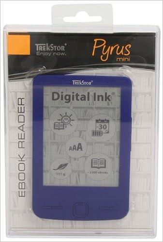 TrekStor Pyrus mini Blue: eBook Reader mit 4.3